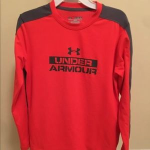 Under Armour Boy's Loose Fit Coldgear Shirt YMD